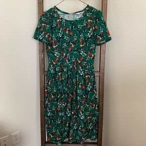 LuLaRoe Dresses - Lularoe Amelia Dress (L)